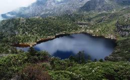 Millennium sleeping lake of  Goddess Stock Photo