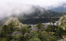 Millennium sleeping lake of  Goddess Royalty Free Stock Images
