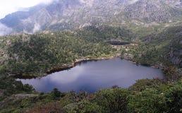 Millennium sleeping lake of  Goddess Stock Image