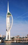 Millennium Spinnaker Tower. In Portsmouth, South England Royalty Free Stock Photo