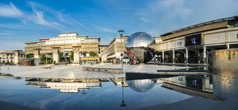 Millennium Square, Bristol Royalty Free Stock Photo