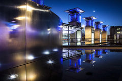 Millennium Square Bristol at night Royalty Free Stock Photography
