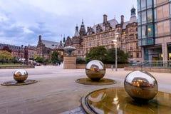 Millennium Square Sheffield Yorkshire UK Stock Images