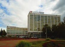 Millennium Square of Vitebsk Stock Image