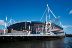Millennium Stadium lizenzfreie stockfotos