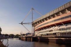 Millennium Stadium in Cardiif, Nationalstadion von Wales Stockfoto