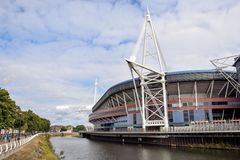 Millennium Stadium Stock Photo