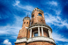 Millennium Tower. Is a memorial tower located in Beograd Zemun.It was built and officially opened in 1986 to celebrate a thousand years of Hungarian settlement royalty free stock images