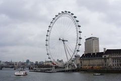 Millennium wheel (London Eye) Stock Photo
