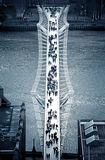 Millenniumbrug Royalty-vrije Stock Foto's