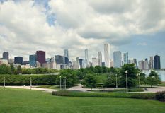 Millenniumpark in Chicago, de V.S. Stock Foto