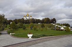 Millennium Park of Yaroslavl Royalty Free Stock Photos