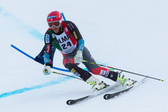MILLER Bode (USA). Alta Badia, ITALY 22 December 2013. MILLER Bode (USA) competing in the Audi FIS Alpine Skiing World Cup MEN'S GIANT SLALOM Stock Photography