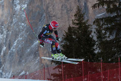 MILLER Bode (USA). VAL GARDENA, ITALY - DECEMBER 21:  MILLER Bode (USA) races down the Saslong competing in the Audi FIS Alpine Skiing World Cup MEN'S DOWNHILL Stock Photo