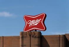 Miller Brewery Complex fotografia stock libera da diritti