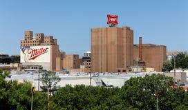 Miller Brewery Complex fotos de archivo