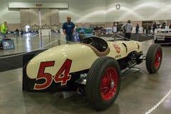 Miller Ford 2-Man Indy bil Arkivfoto