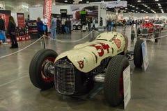 Miller Ford 2-Man Indy bil Royaltyfria Foton