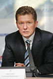 miller gazprom ceo alexey Стоковая Фотография RF