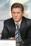 miller gazprom ceo alexey Стоковое фото RF