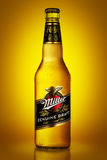 Miller Genuine Draft is the original cold filtered packaged draf Stock Photography