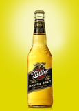 Miller Genuine Draft is the original cold filtered packaged draf Stock Images