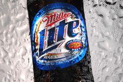 Miller Lite beer stock images