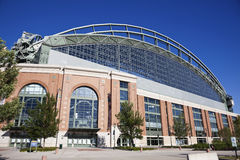 Miller Park in Milwaukee Stock Image