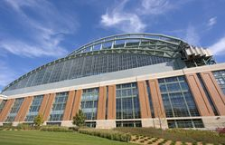 Miller Park - Milwaukee Stock Photography