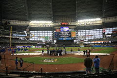 Miller Park - Milwaukee Brewers Stock Image