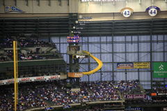Miller Park - Milwaukee Brewers Royalty Free Stock Photography