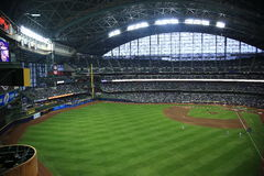 Miller Park - Milwaukee Brewers Stock Photos