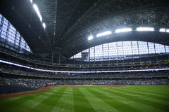 Miller Park - Milwaukee Brewers Stock Photography