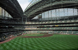 Miller Park - Milwaukee Brewers Royalty Free Stock Images