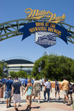 Miller Park Milwaukee Brewers MLB Baseball Royalty Free Stock Images