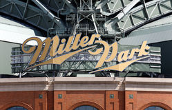 Miller Park Royalty Free Stock Photo