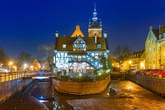 Miller's House on the Mill Island in Gdansk Royalty Free Stock Image
