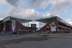 Millerntor stadium futbolu klubu FC St Pauli na Heiliggeistfeld Zdjęcie Stock