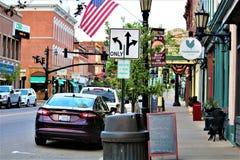 Millersburg Ohio no país de Amish fotografia de stock royalty free