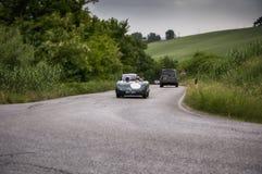 Milles 2015 de la voiture mille de vintage de course Images libres de droits