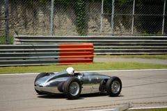 1958 500 milles de listeuse Jaguar de Monza Photographie stock libre de droits