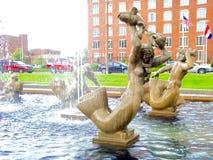 Milles fontanny statua Fotografia Royalty Free