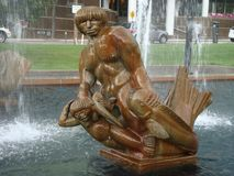 Milles Fountain statue Royalty Free Stock Image