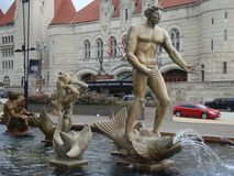Milles Fountain statue Royalty Free Stock Photography