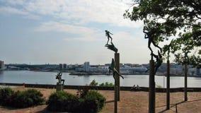 Millesgarden. The park of sculptures Millesgarden Stock Images
