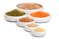 Millet, barley and other Stock Photo
