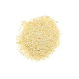Millet flakes. Isolated on white background Royalty Free Stock Image