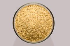Millet grain Stock Photography