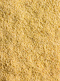 Millet grains background Royalty Free Stock Images