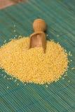 Millet groats Stock Photo